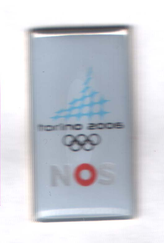Torino 2006 media pin NOS (nederlandsk TV)